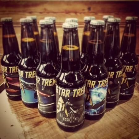 Garrison Brewing & Federation of Beer Release Star Trek Golden Anniversary Ale