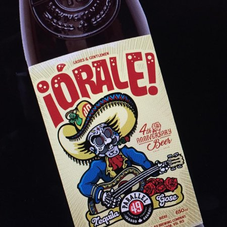 Parallel 49 Releases 4th Anniversary ¡Órale! Tequila Gose