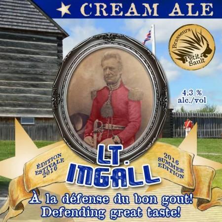 Les Brasseurs du Petit-Sault Releases Lt. Ingall Cream Ale