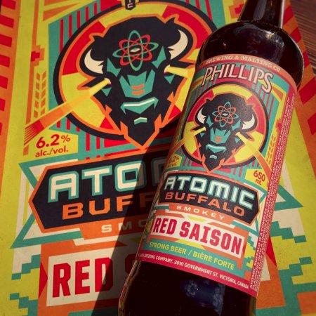 Phillips Releases Atomic Buffalo Smokey Red Saison