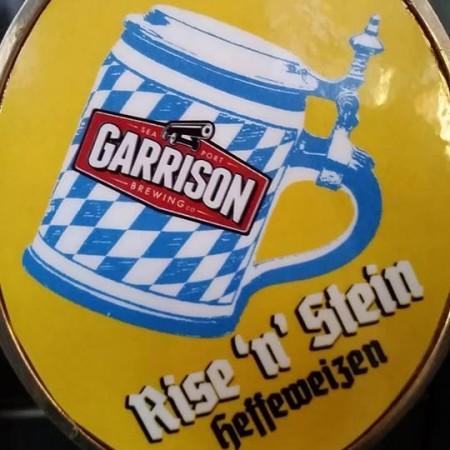 Garrison Brings Back Award-Winning Rise 'n' Stein Hefeweizen
