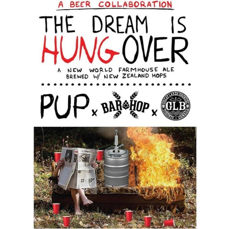 Great Lakes, Bar Hop & PUP Releasing Collaboration Beer