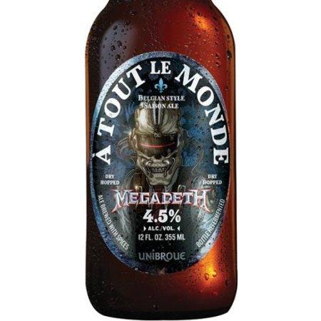 Unibroue & Megadeth Partnering on À Tout Le Monde Saison