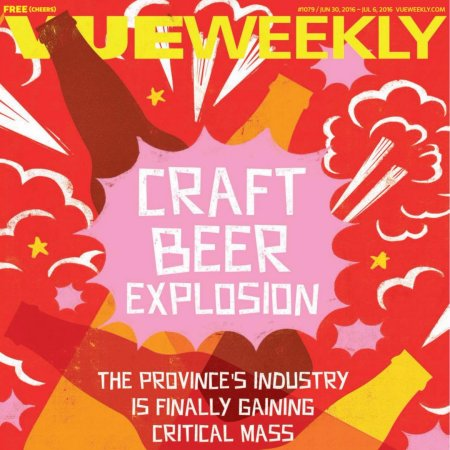 Vue Weekly Beer Issue 2016 Now Available