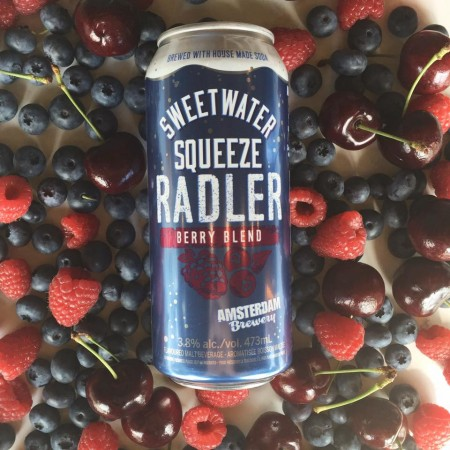 Amsterdam Releases Sweetwater Squeeze Berry Radler to Retail