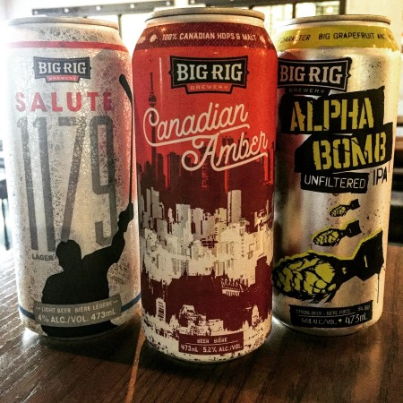 Big Rig Releasing Trio of Beers to Ontario Grocery Stores