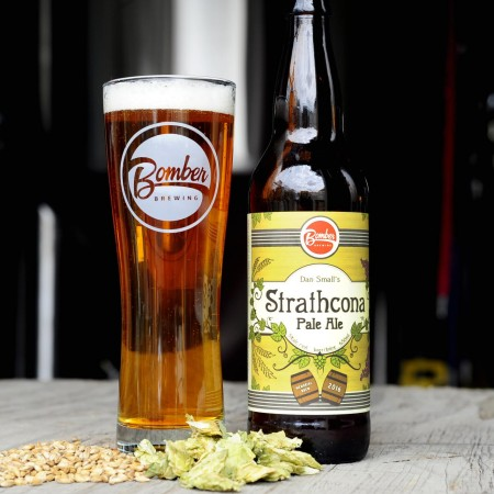 Bomber Brewing Releases Strathcona Pale Ale in Memory of Dan Small