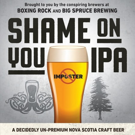 Big Spruce & Boxing Rock Release Shame On You IPA