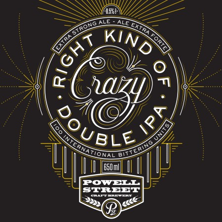Powell Street Brings Back Right Kind of Crazy Double IPA