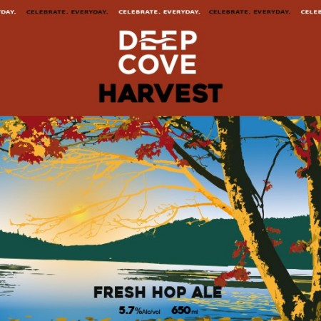 Deep Cove Harvest Ale Now Available