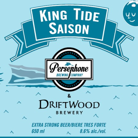 BC Craft Brewers Guild Collaboration Series Continues with Persephone & Driftwood King Tide Saison