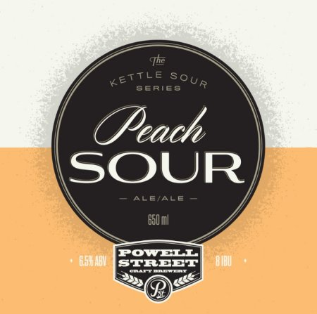 Powell Street Kettle Sour Series Continues with Peach Sour Ale