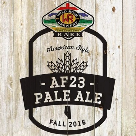 Wild Rose Rare Series Continues with AF23 Pale Ale