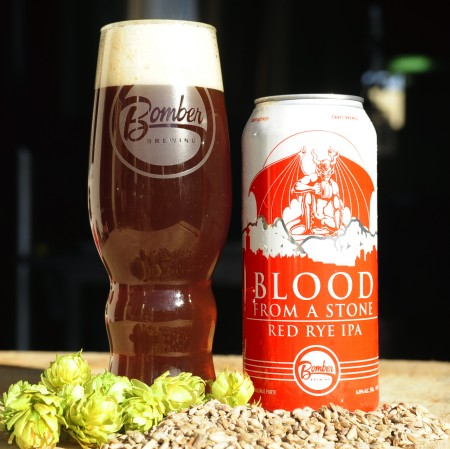 Bomber Brewing Brings Back Blood From A Stone Collaboration With Stone Brewing