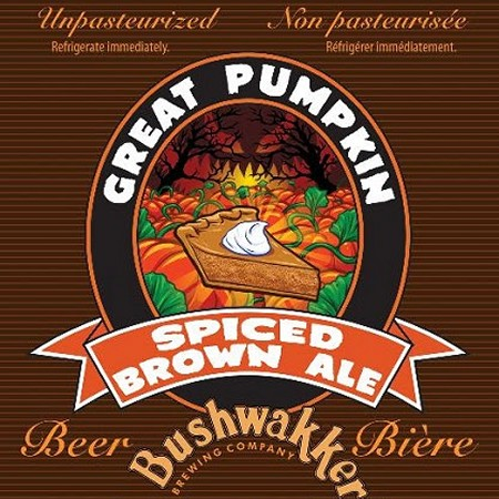 Bushwakker Great Pumpkin Spiced Brown Ale Returning Tomorrow