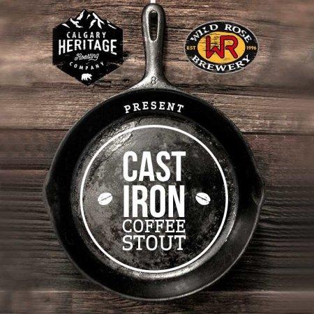 Wild Rose & Calgary Heritage Roasting Releasing Collaborative Cast Iron Coffee Stout