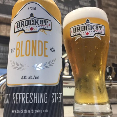 Recall Issued for Brock Street Blonde Lager