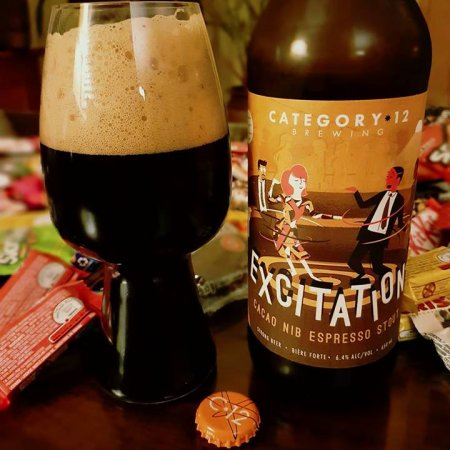 Category 12 Excitation Stout Now Available