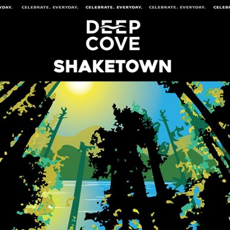 Deep Cove Shaketown Spruce Tip Black IPA Now Available