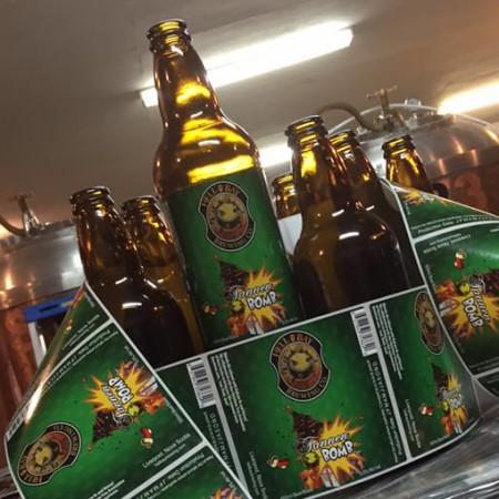 Hell Bay Brewing & Christmas Tree Council of Nova Scotia Release Tannen Bomb Balsam Fir Beer