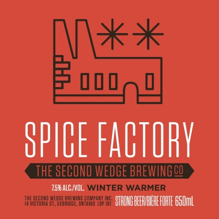 Second Wedge Releasing Spice Factory Winter Warmer This Weekend