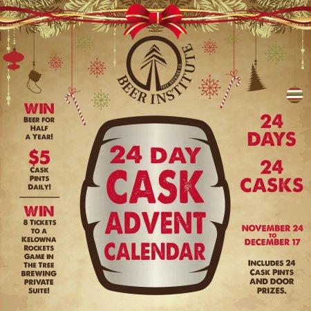 Tree Brewing Cask Advent Calendar Returning for 2016