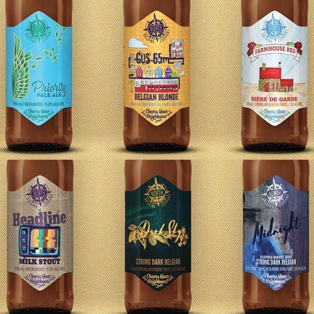 North Brewing Launches New Artist Series Labels