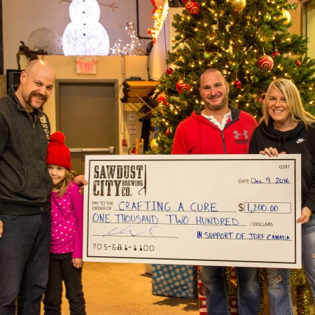 Sawdust City Raises $1200 for Crafting a Cure