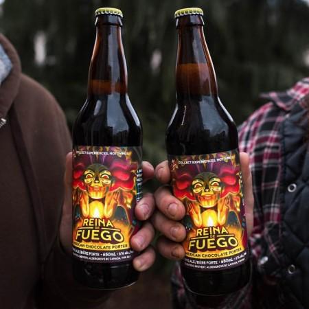 Dead Frog Releases Reina de Fuego Mexican Chocolate Porter