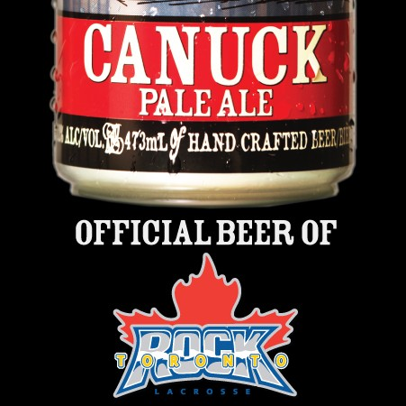 Great Lakes Brewery Named Official Brewery Partner of Toronto Rock Lacrosse