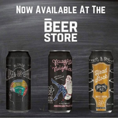 Nickel Brook Brands Now Available at The Beer Store