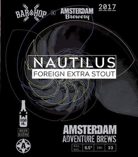 Amsterdam & Bar Hop Bringing Back Nautilus Foreign Extra Stout