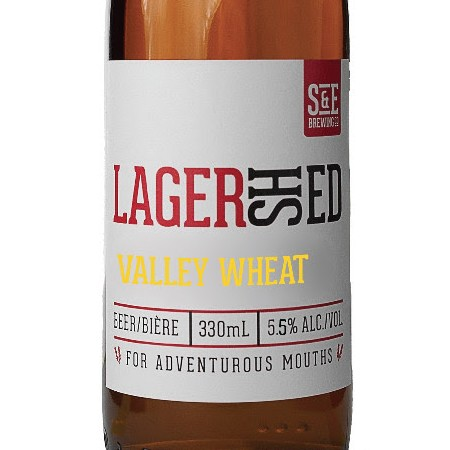 Shawn & Ed Lagershed Valley Wheat Now Available at LCBO
