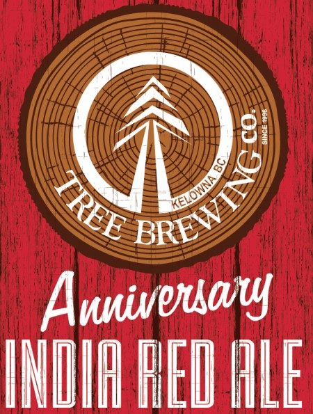 Tree Brewing Releases Anniversary India Red Ale