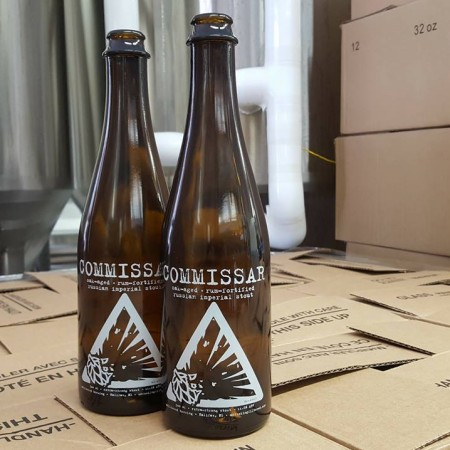 Unfiltered Brewing Commissar Russian Imperial Stout Coming This Week