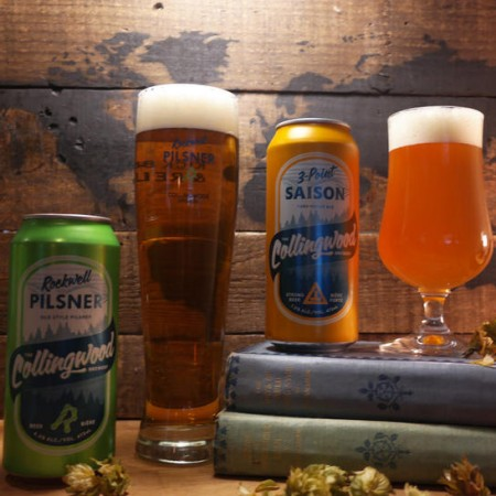 The Collingwood Brewery Rockwell Pilsner & 3-Point Saison Now Available at LCBO