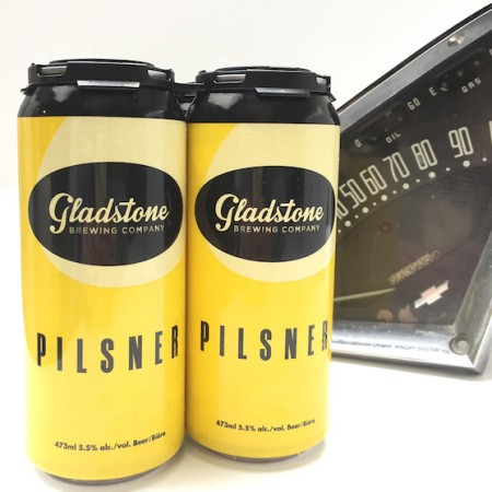 Gladstone Brewing Pilsner Now Available in Cans