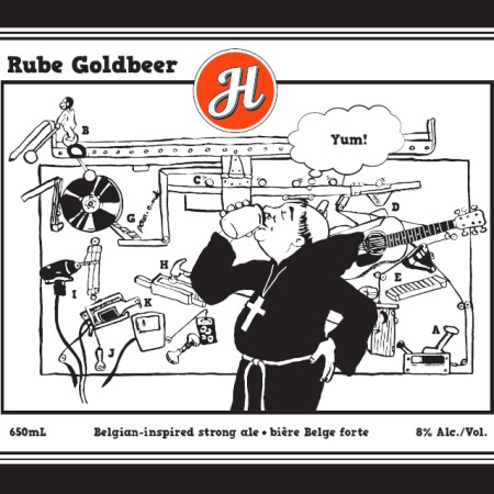 Henderson Brewing Releasing Rube Goldbeer Charity Brew for Toronto Playgrounds Baseball