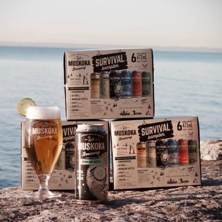 Muskoka Brings Back Cool As Cuke Pale Ale in Summer Survival Pack