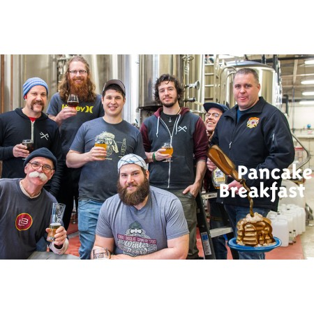Sawdust City, Muskoka & Lake of Bays Release Pancake Breakfast Maple Ale