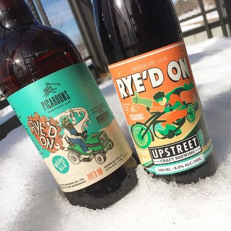 Picaroons & Upstreet Releasing Rye'd On Imperial Rye Collaborative Beer(s)