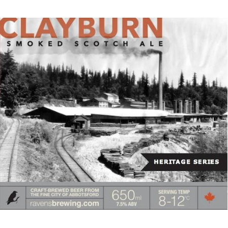 Ravens Brewing Launching Heritage Series with Clayburn Smoked Scotch Ale