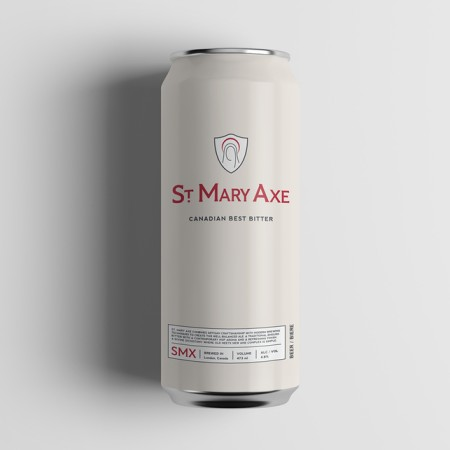 St. Mary Axe Canadian Best Bitter Heading to The Beer Store