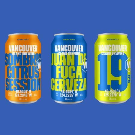 Vancouver Island Brewing Reveals Rebranding & New Beer Line-up