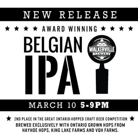 Walkerville Brewery Releasing Belgian IPA Tomorrow
