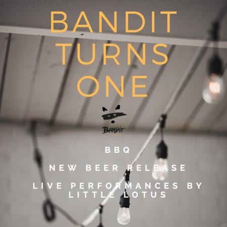 Bandit Brewery Announces Plans for 1st Anniversary Celebration