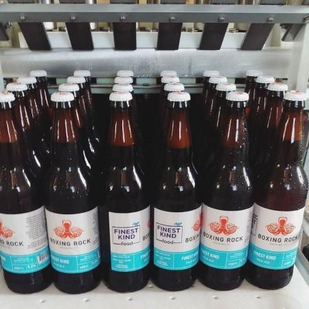 Boxing Rock & Finest Kind Food Release Collaborative Pale Ale