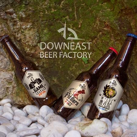 Downeast Beer Factory Releasing Core Brands at NSLC