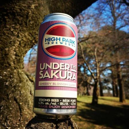 High Park Brewery Celebrates Cherry Blossom Festival with Under The Sakura