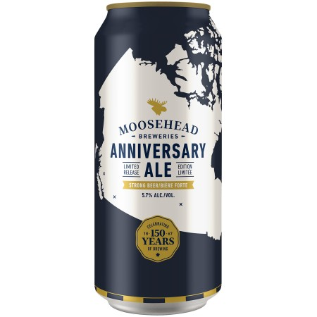 Moosehead Marking 150th Birthday with Anniversary Ale, Special Edition Packaging & More
